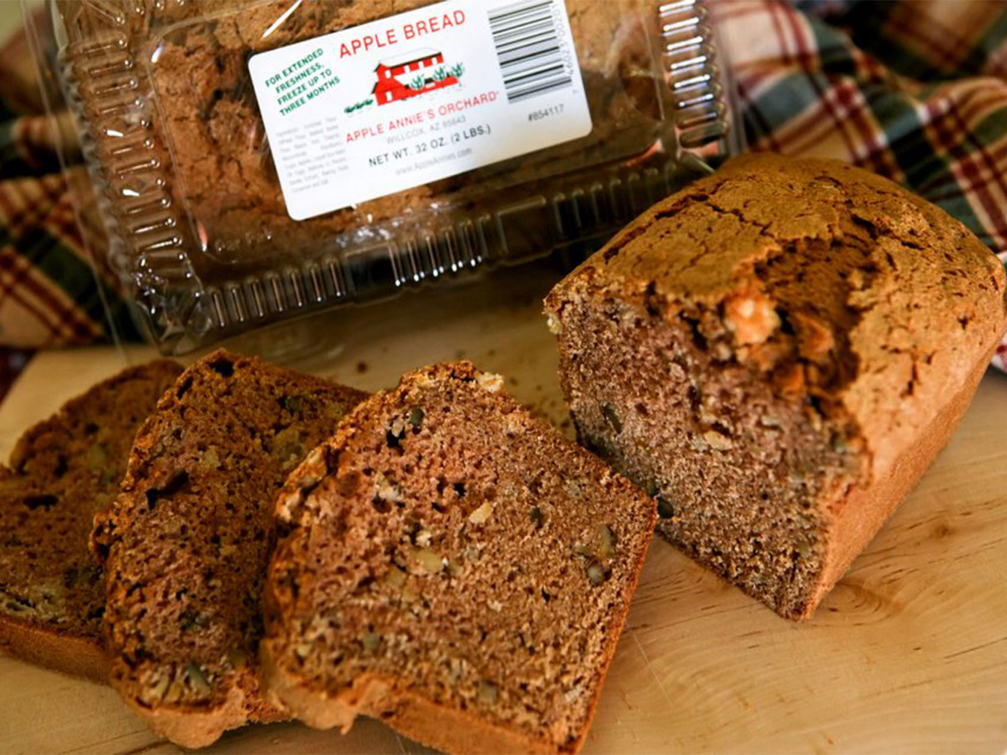 Apple Annie's Orchard Apple Bread Loaf