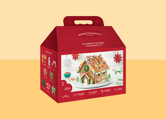 Target Classic Gingerbread House