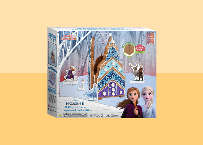 Frozen II Holiday Ice Castle Gingerbread Cookie Kit
