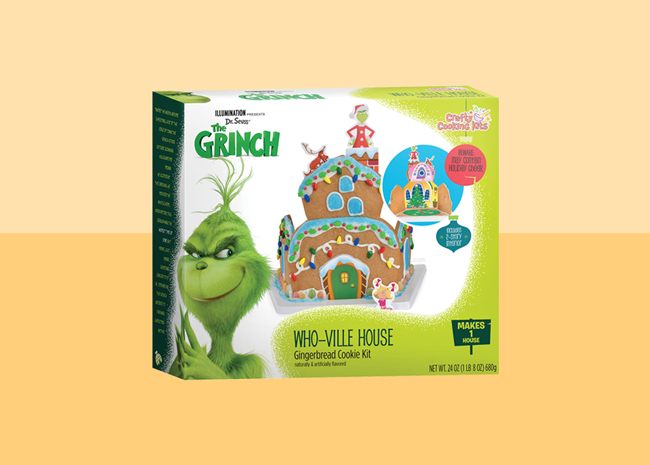 The Grinch Who-ville Gingerbread House