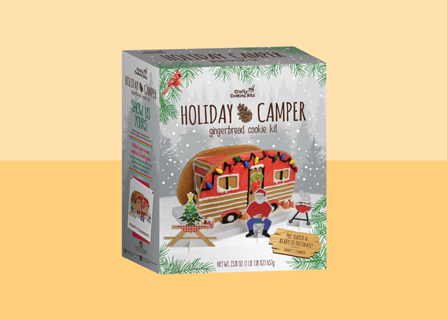 Holiday Camper Gingerbread Cookie Kit