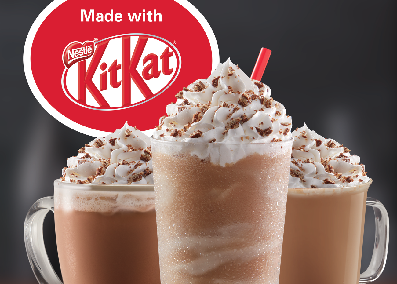 Tim Hortons Kit Kat Drinks