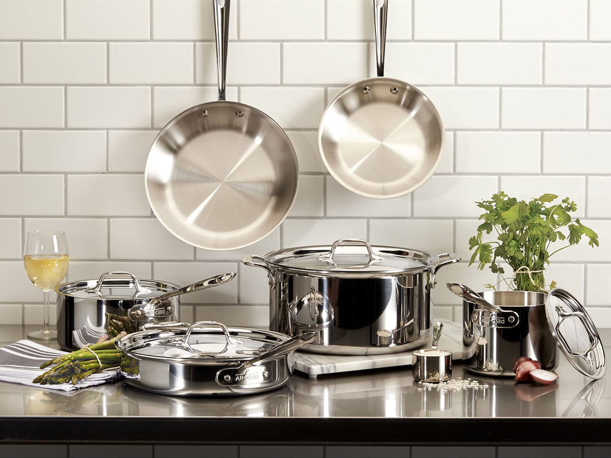 all clad in kitchen