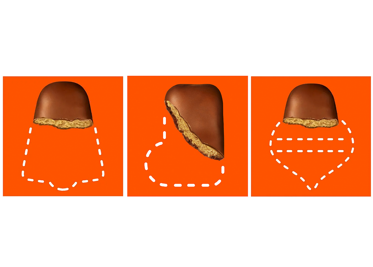 Reese's Mystery Shapes Outline