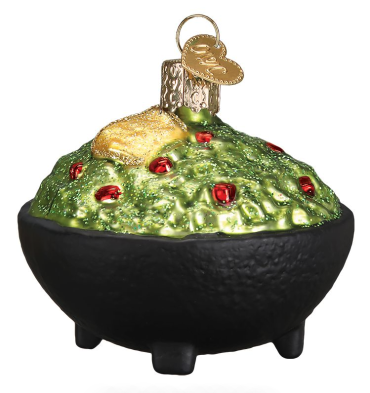 Guacamole Ornament