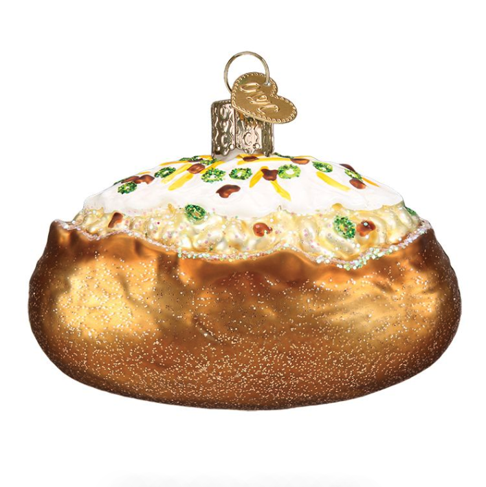 Baked Potato Ornament