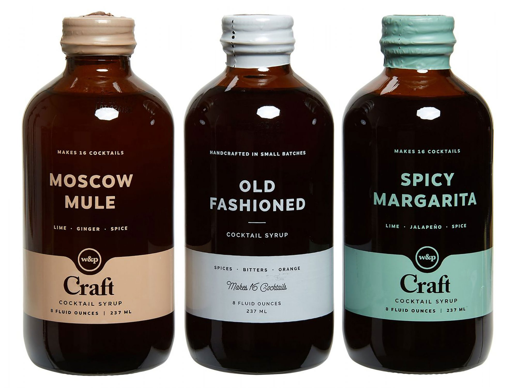 W and P Design Craft 3-Pack Cocktail Mixes