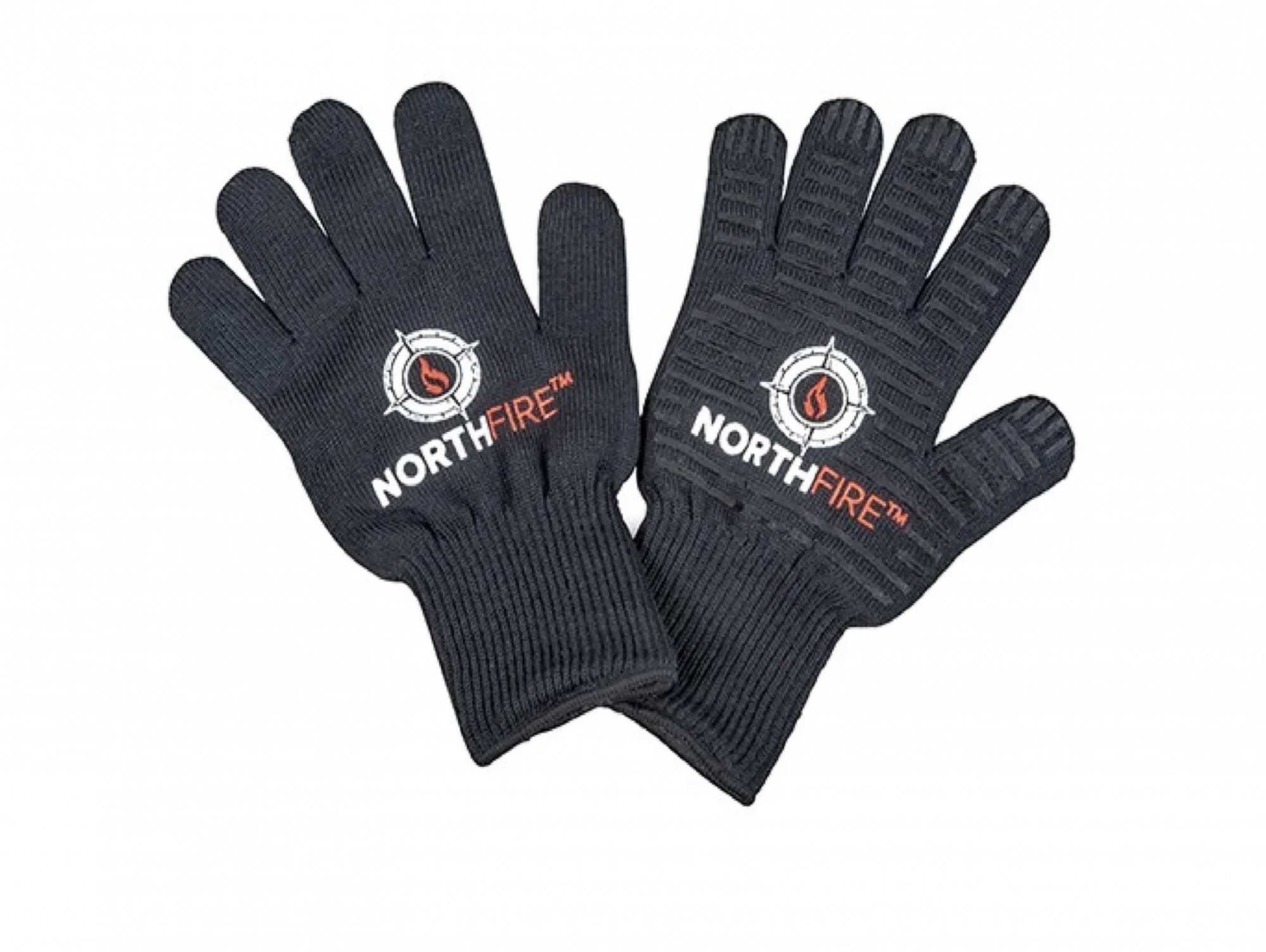 A good pair of grilling gloves will allow your favorite grilling guru to brave the heat without fear of burning. Don this thick cotton pair, and they can adjust grates, pick up hot pans, and even maneuver logs or coals. These heat-resistant gloves can protect hands from temperatures of up to 932 degrees and because of the glove design and grippy surface, they're better than mitts for getting a good hold on something.