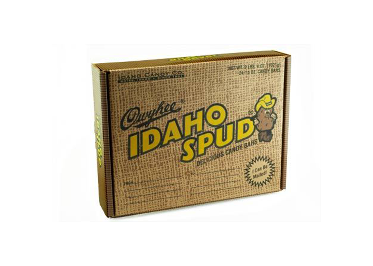 Idaho Candy Company Idaho Spud Candy Bars