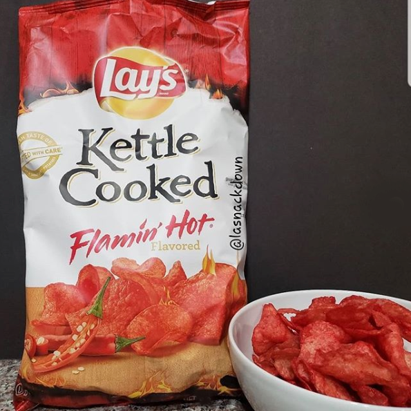 Lay's Kettle Cooked Flamin' Hot