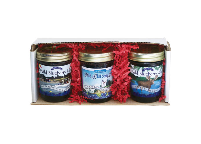Bar Harbor Jam Company Jam Gift 3-Pack