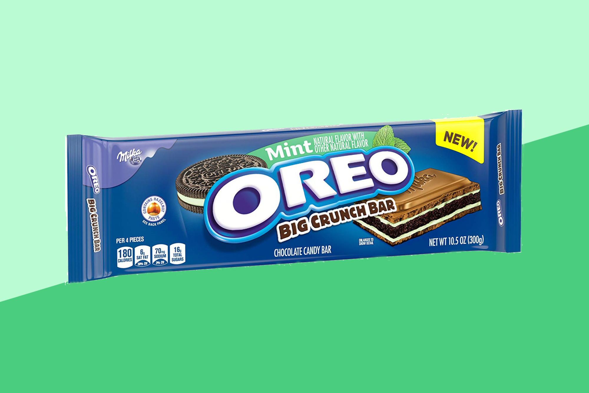 Oreos Giant Mint Crunch Bars Are Back For The Holidays