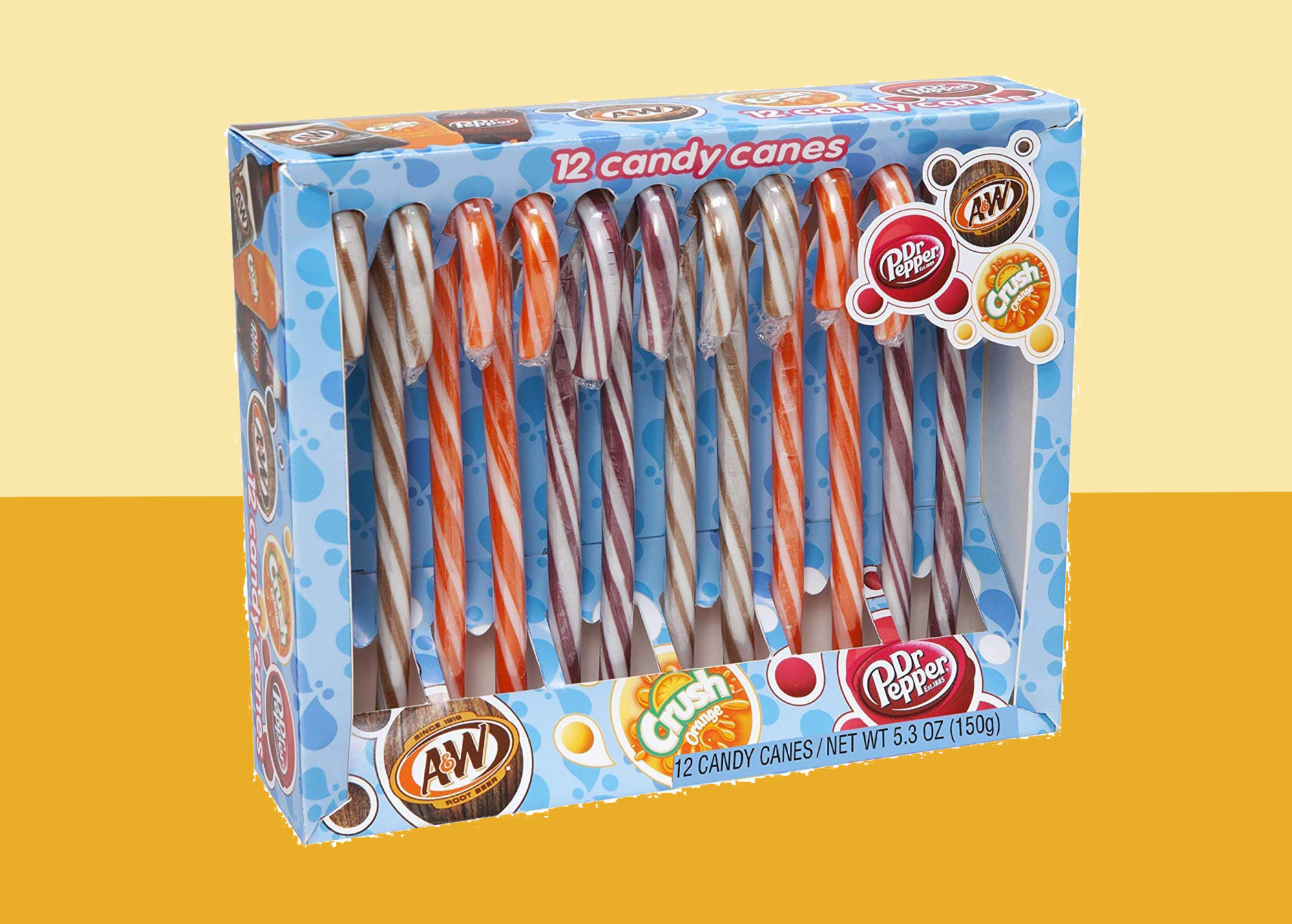 Soda Flavored Candy Canes