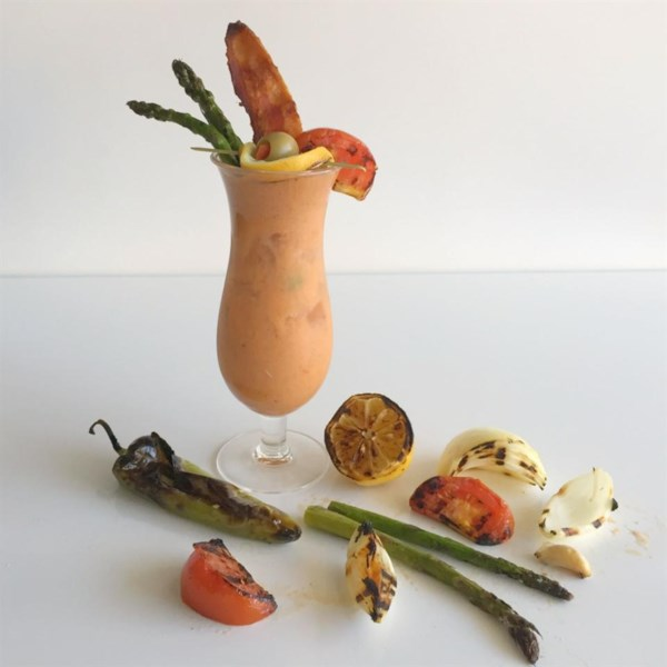 Grilled Gazpacho Bloody Mary