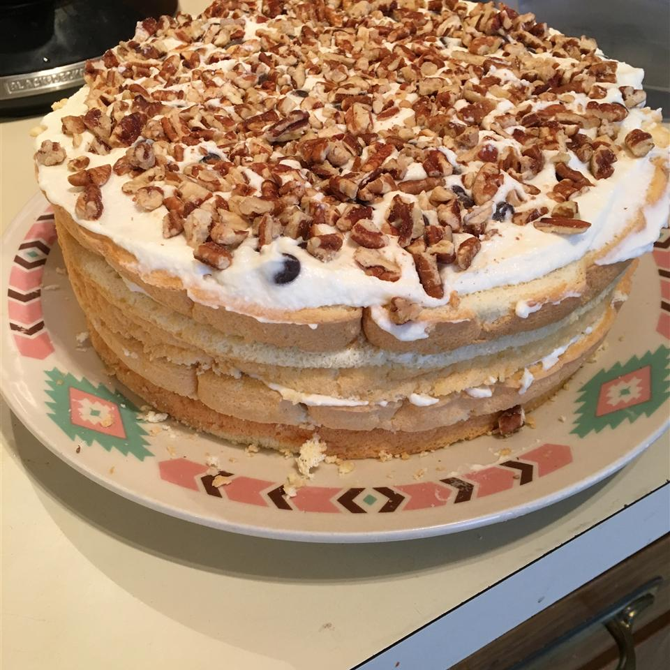 """Multi-layered cassata cake is like a cannoli turned up to eleven. This one alternates rum-soaked sponge cake with sweetened ricotta. It's topped off with a shiny chocolate glaze. """"…better than any NYC Italian bakery,"""" says Lucymarilyn."""