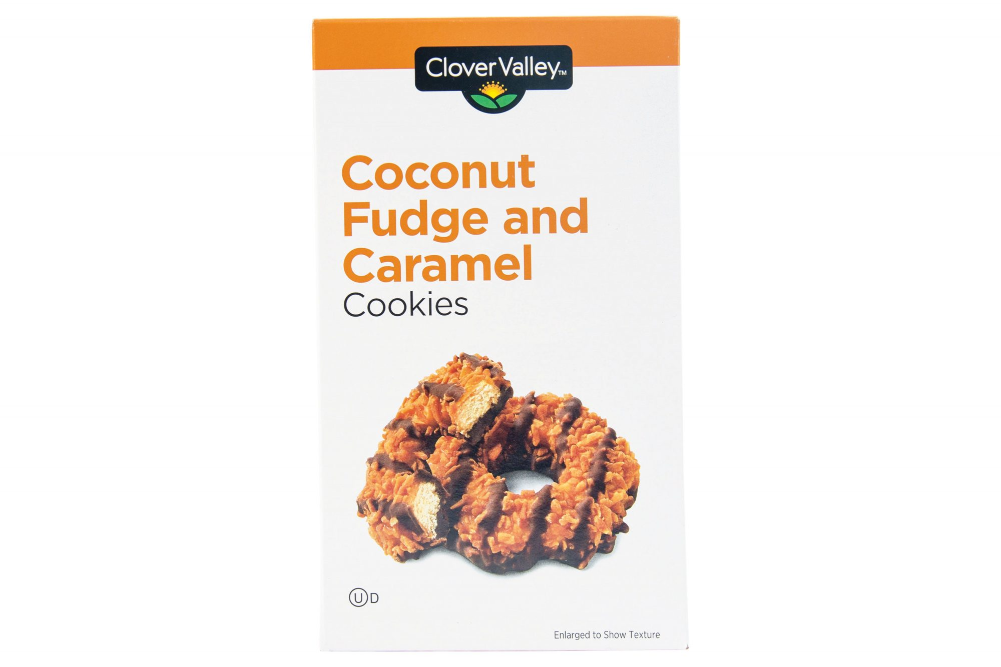 Clover Valley Coconut Fudge and Caramel Cookies