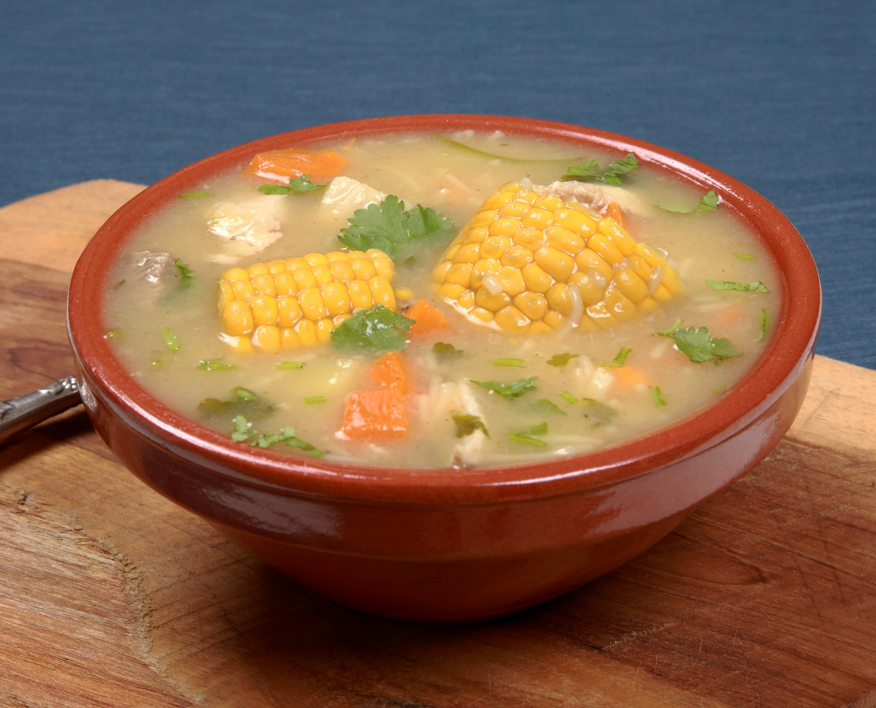 Panamanian Style Chicken Noodle Soup