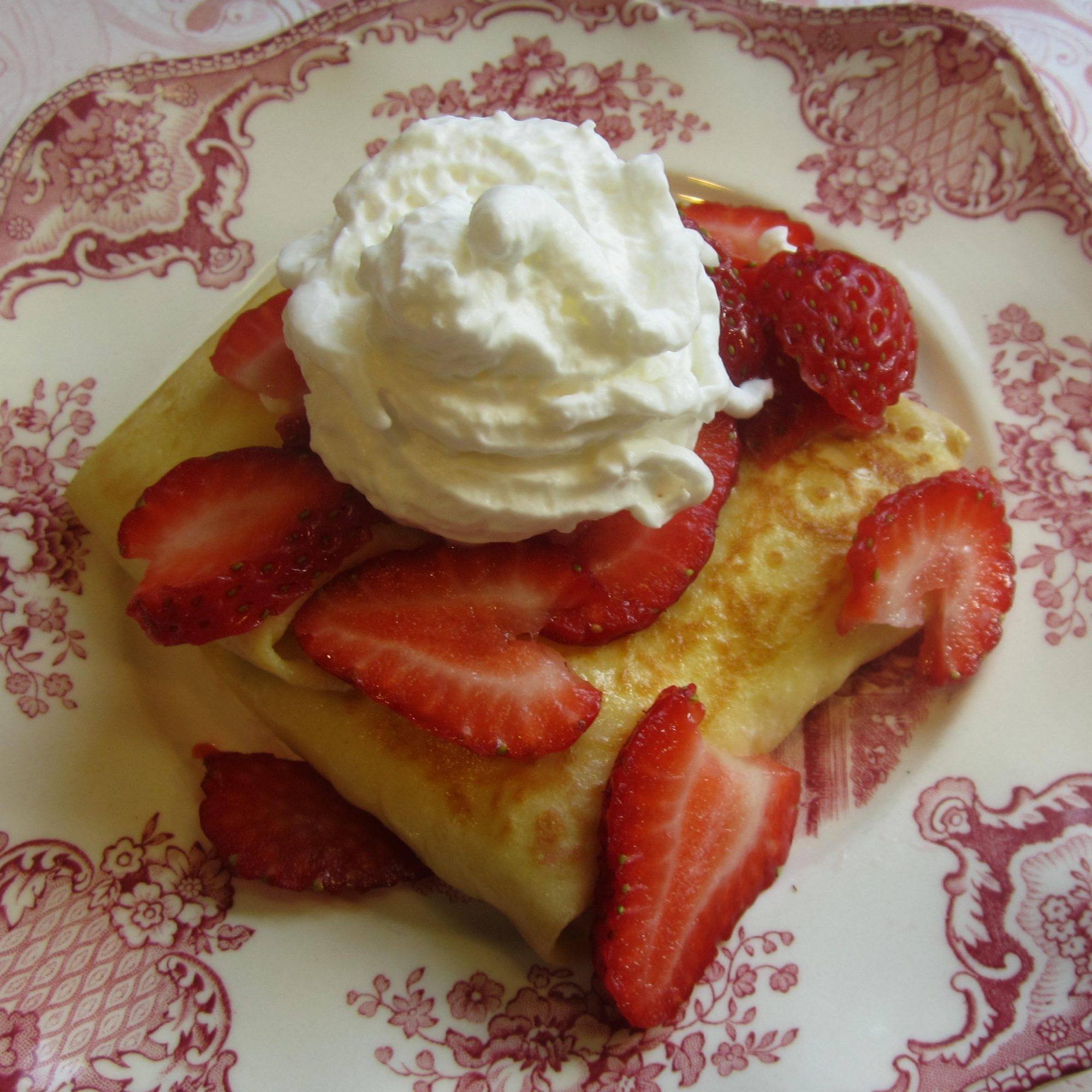 Marylyn's Cheese Blintzes