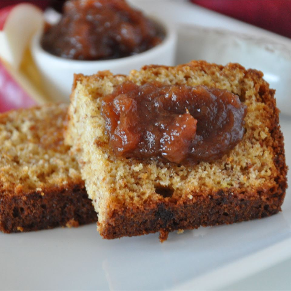 All-Day Apple Butter on a plate