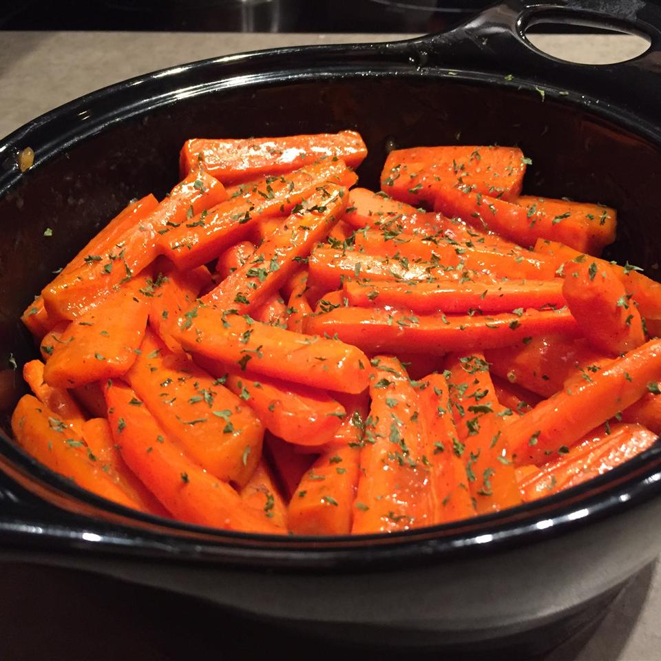 Brandy Glazed Carrots