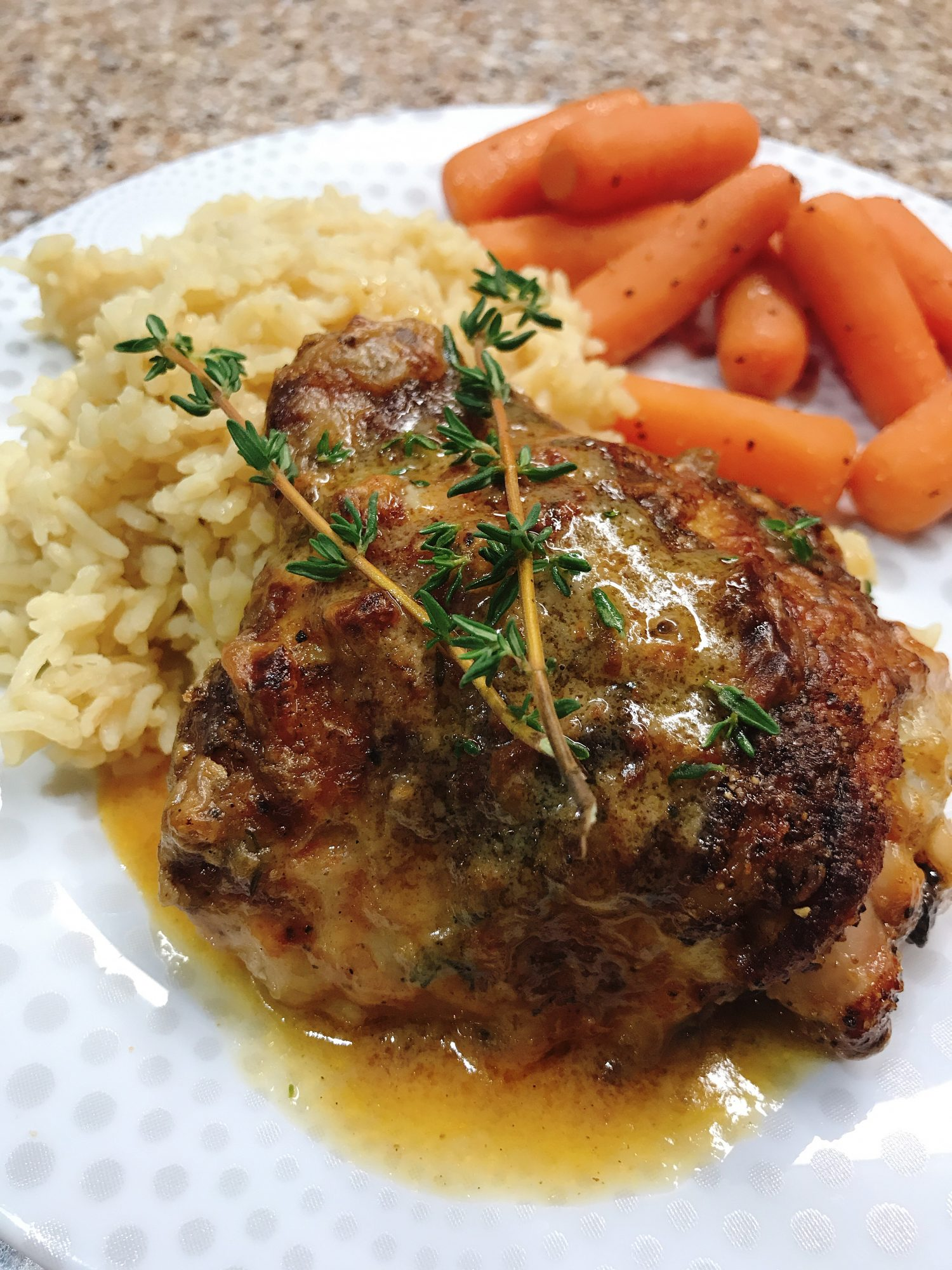 Creamy Lemon Chicken Thighs