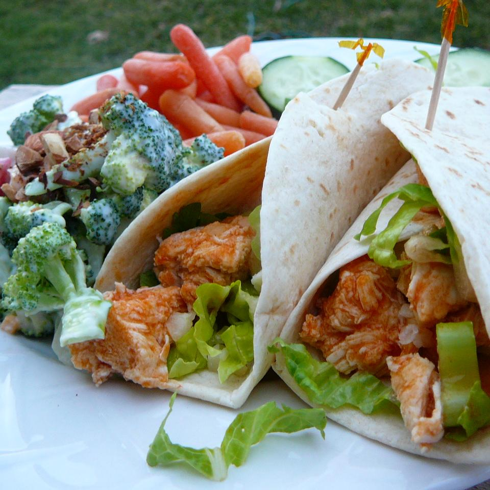 Buffalo Chicken Wraps
