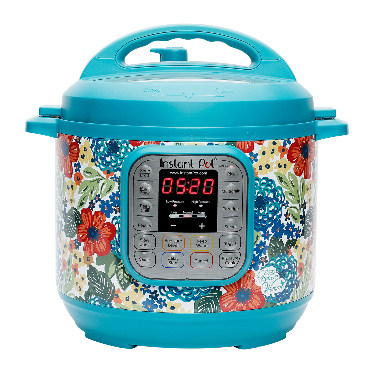 The Pioneer Woman Instant Pot DUO60 7-in-1 Dazzling Dahlia 6-Quart Programable Multi-Cooker