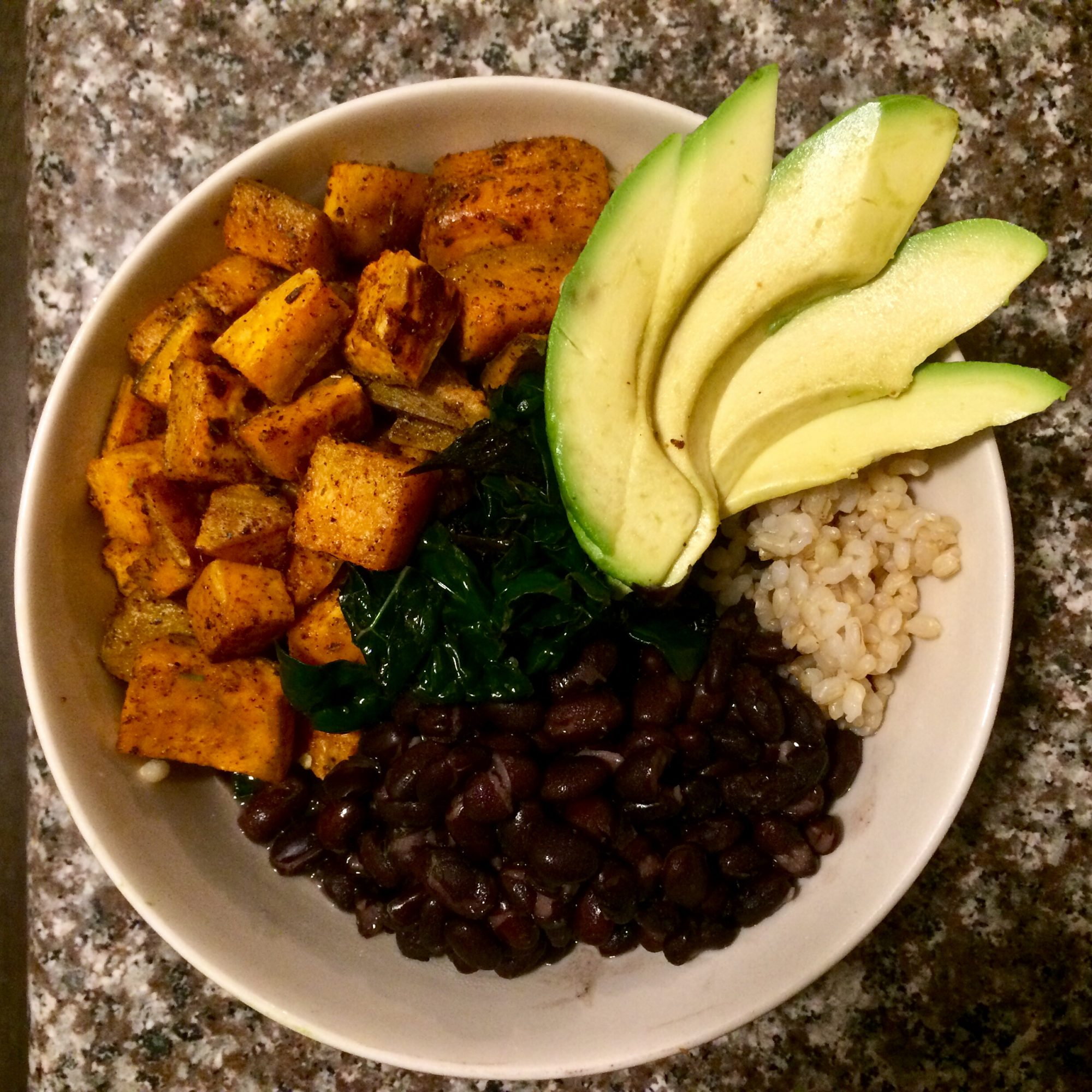 The West Seattle Sweet Potato and Kale Bowl