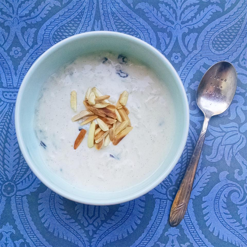 bowl of Kheer (Rice Pudding)