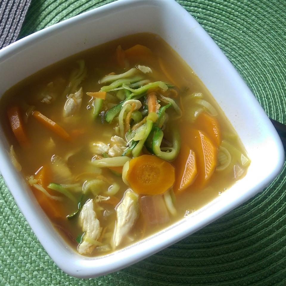 Pho Ginger and Lime Soup