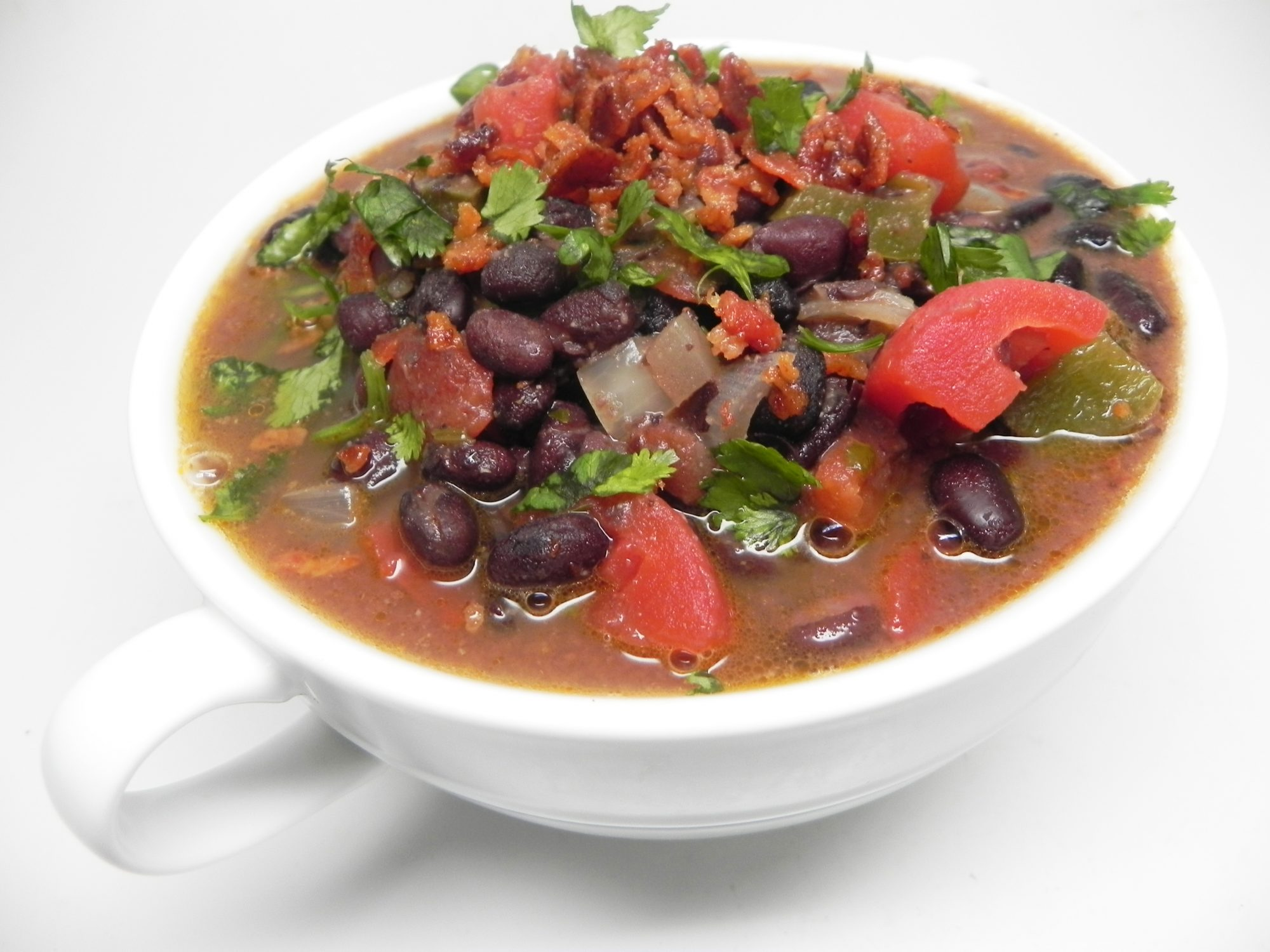 Stupendous Chipotle Black Bean Soup