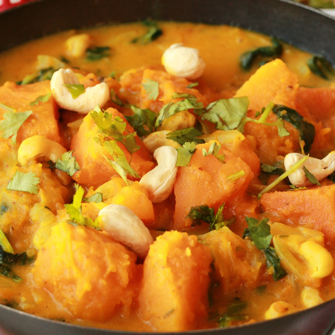 Easy Indian-Style Pumpkin Curry