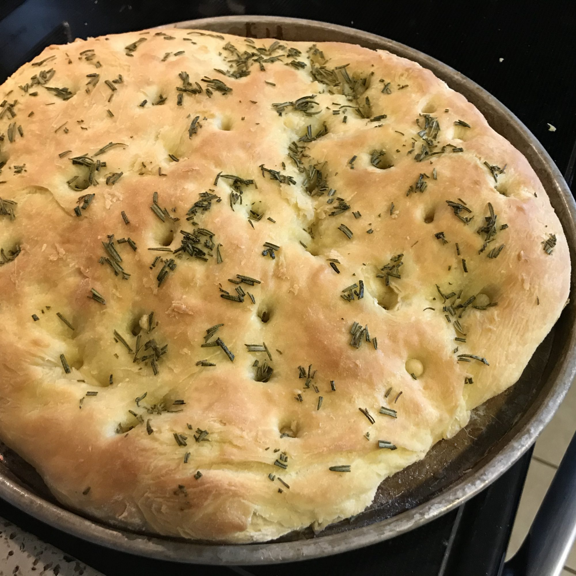 If there's no bread on an Italian table, it's not an Italian table. This Homemade Focaccia Bread is flavorful enough to eat on its own, but is even better dipped into good olive oil or Sunday gravy.