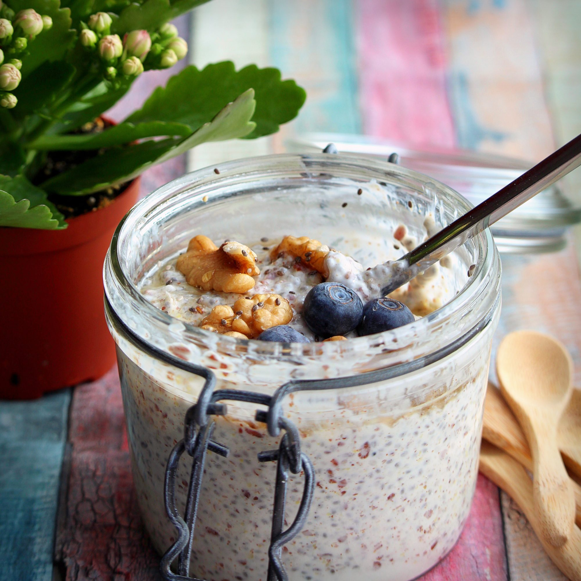 Chia Greek Yogurt Pudding