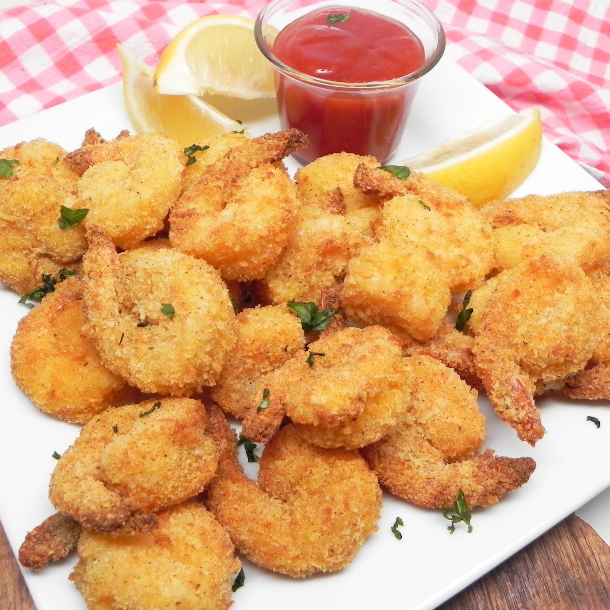 Air Fryer Popcorn Shrimp
