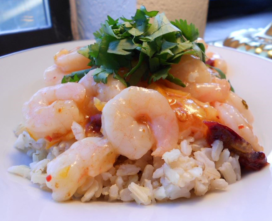 Chipotle-Orange Shrimp