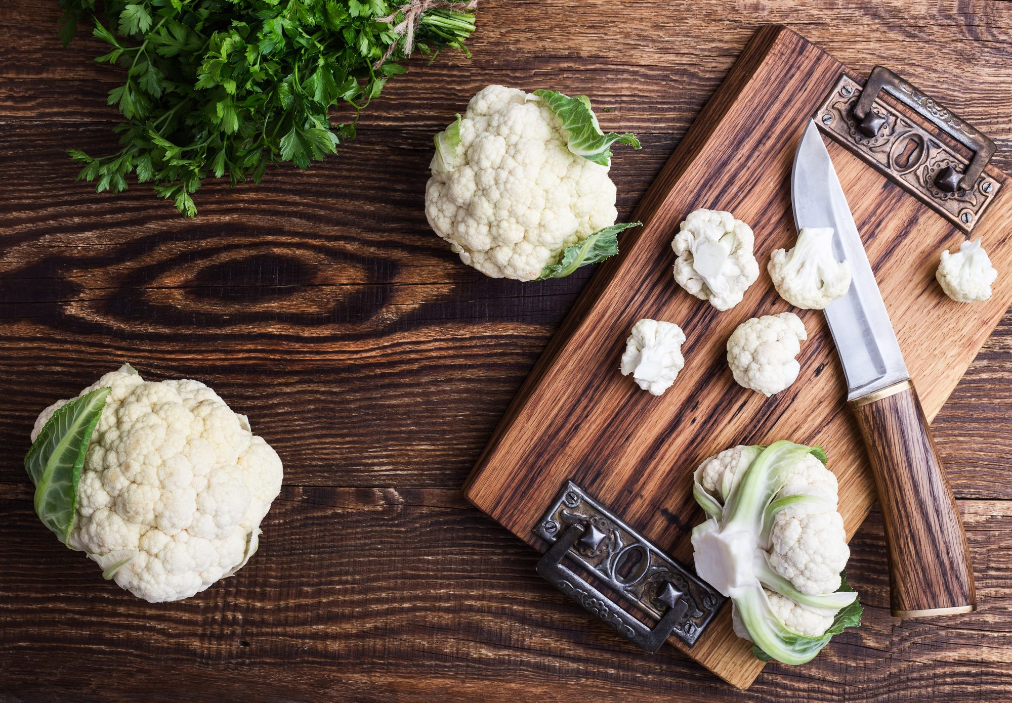 Mistakes You're Making When Cooking Cauliflower