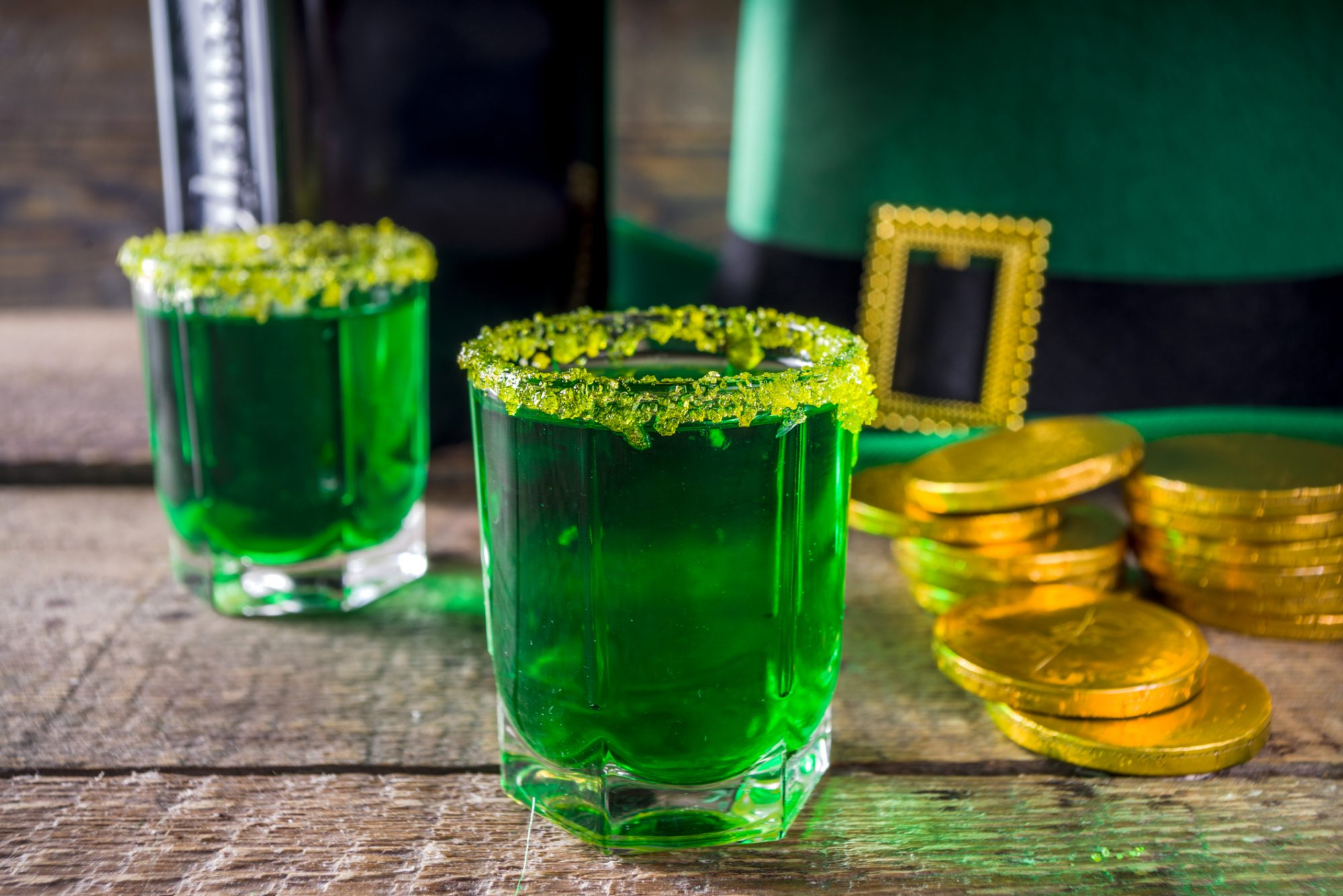 Green Shots for St. Patrick's Day