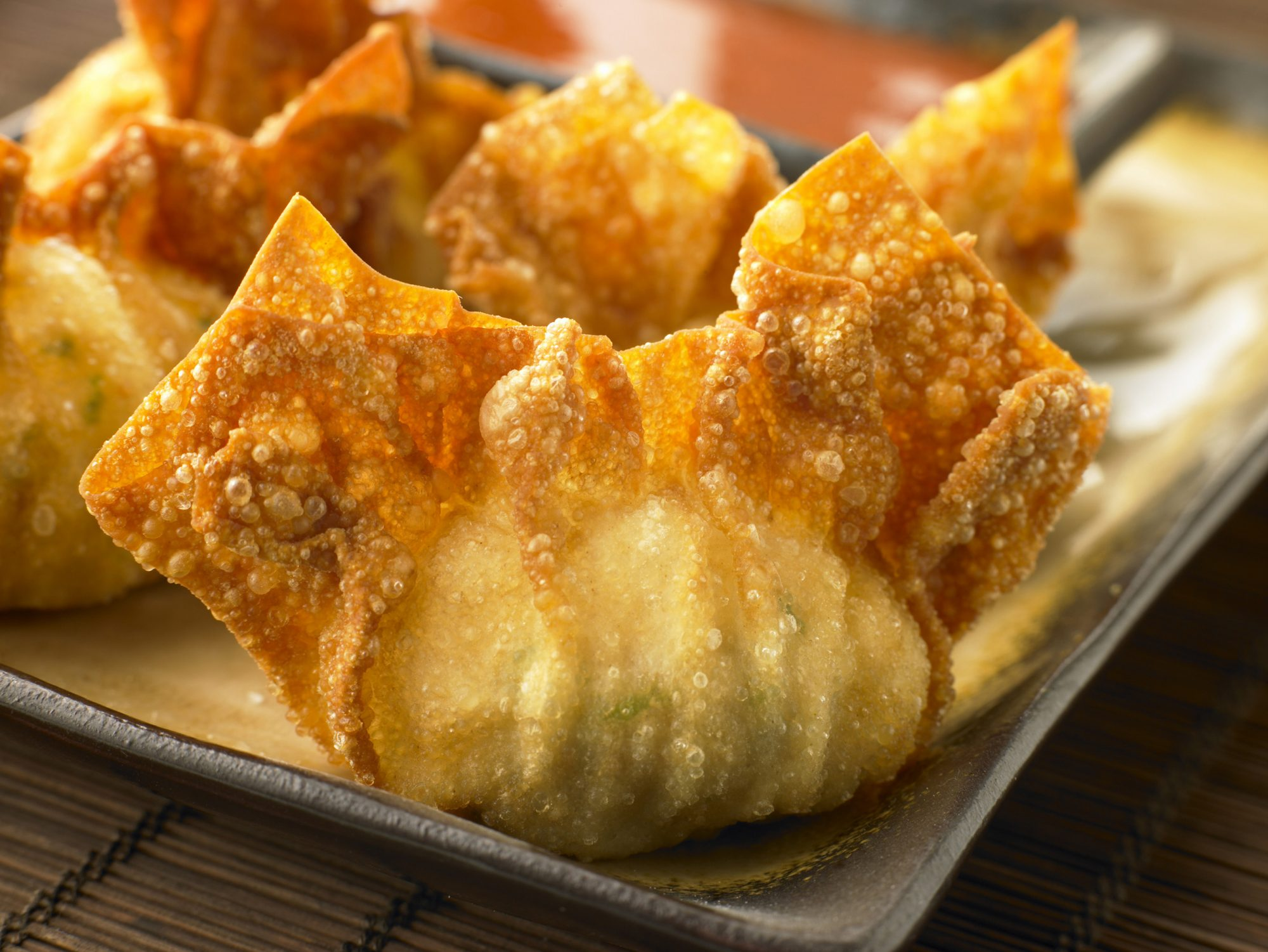 Golden Wonton Purses