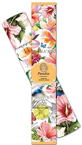 Michel Design Works Scented Drawer Liners, Paradise