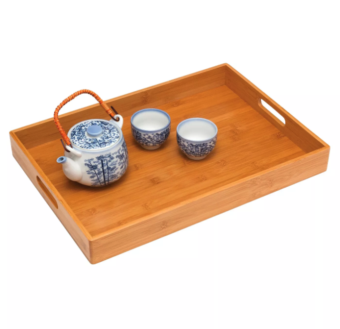 Lipper Solid Bamboo Tray