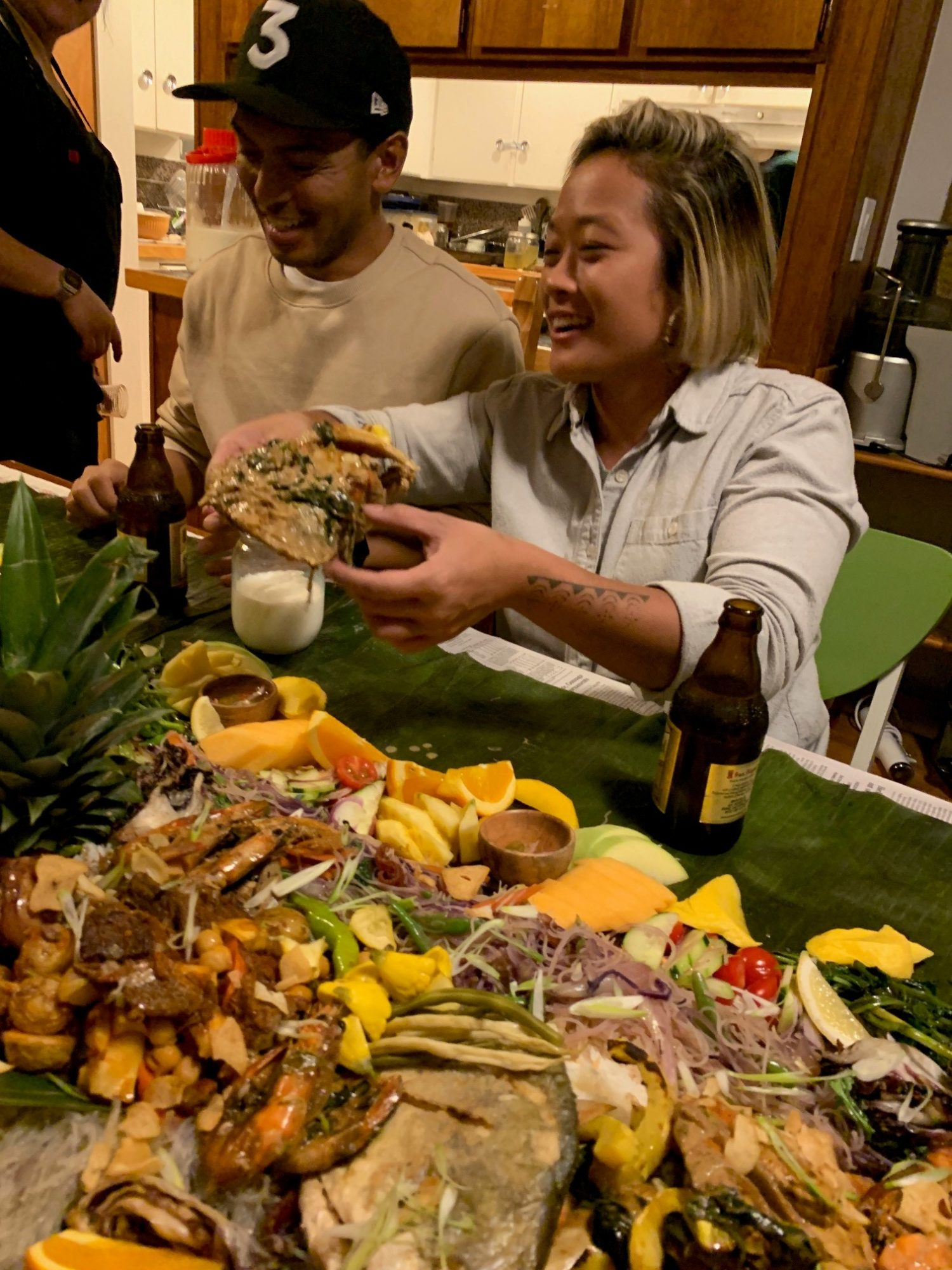 filipino kamayan feast