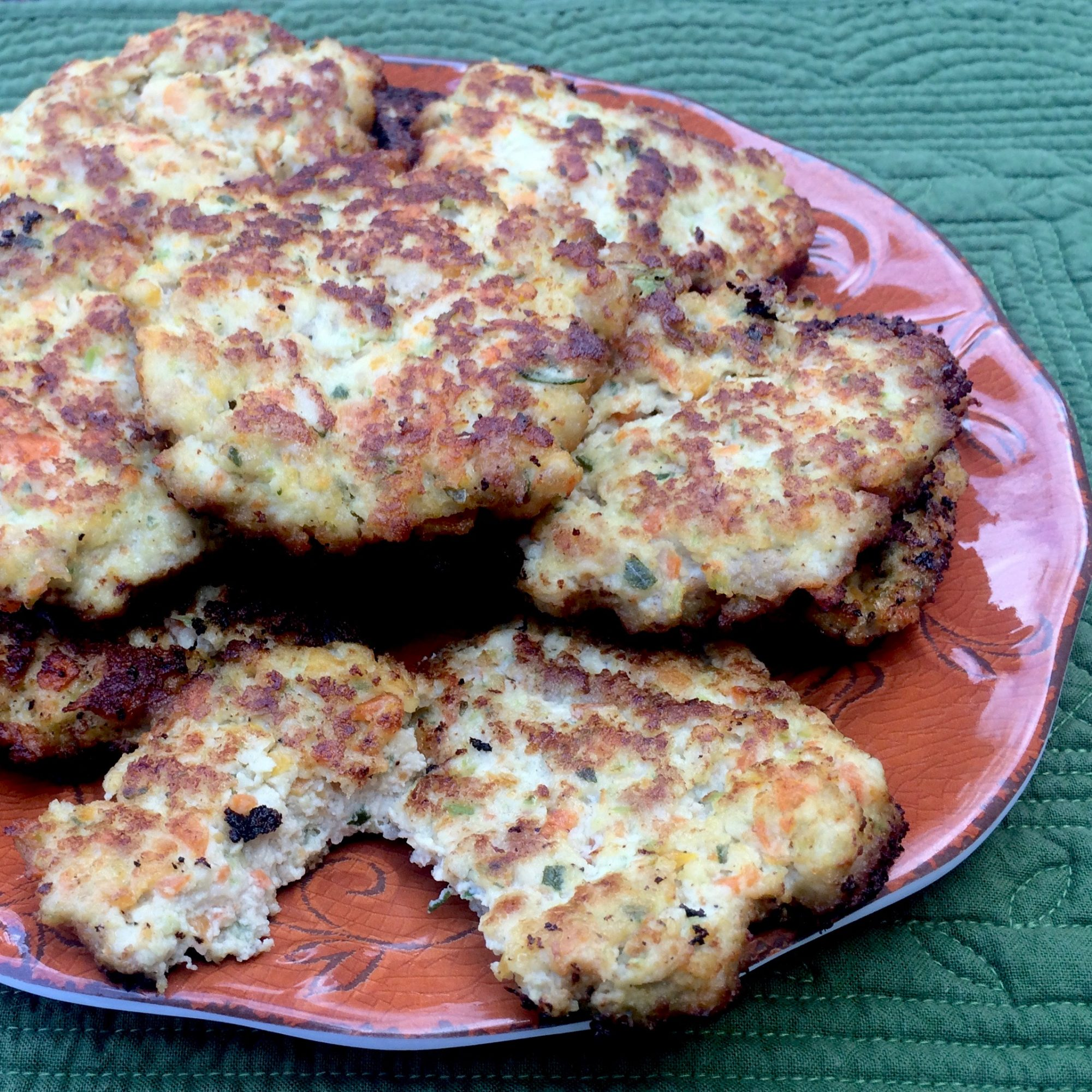 Rosemary Chicken Fritters