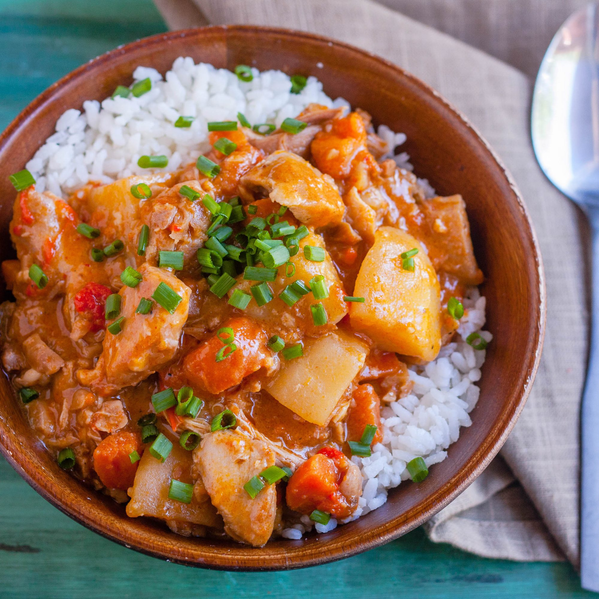 Slow Cooker Chicken Massaman Curry
