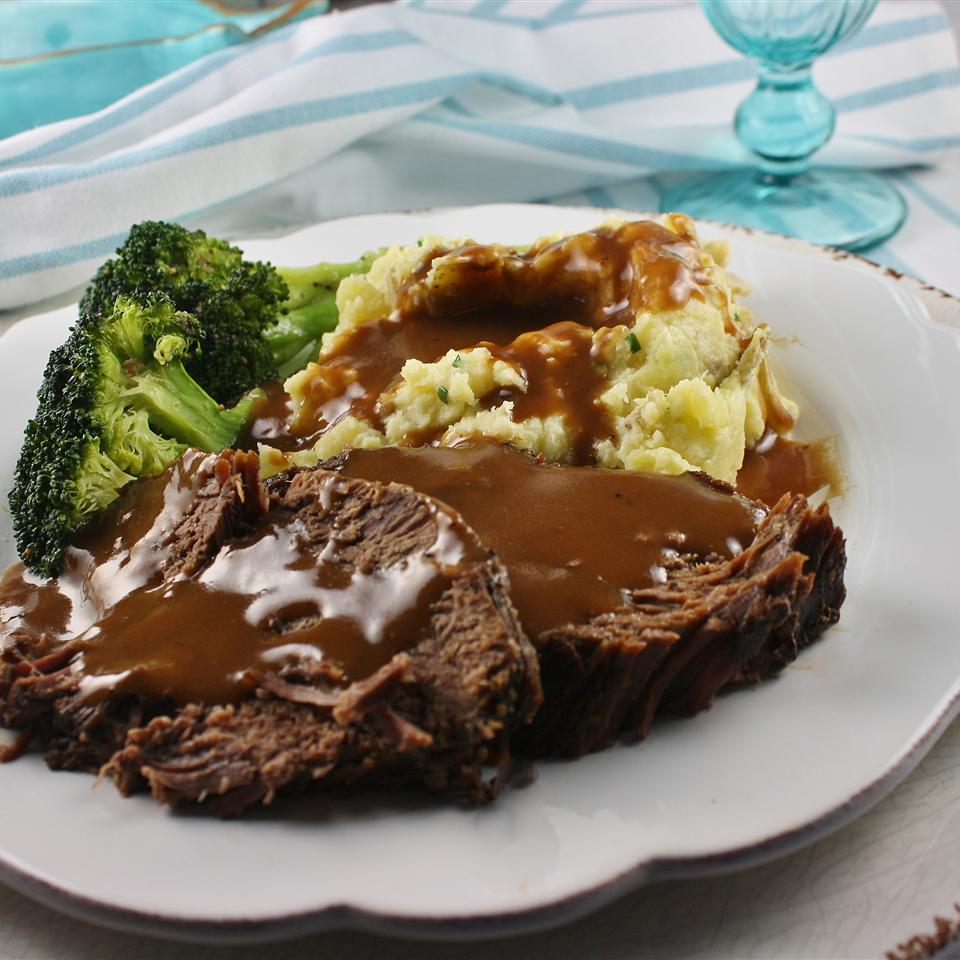 Slow Cooker Pot Roast with Malbec (Red Wine)