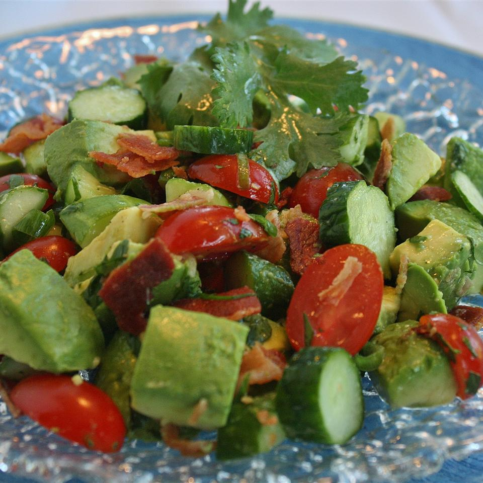Bacon Avocado Salad