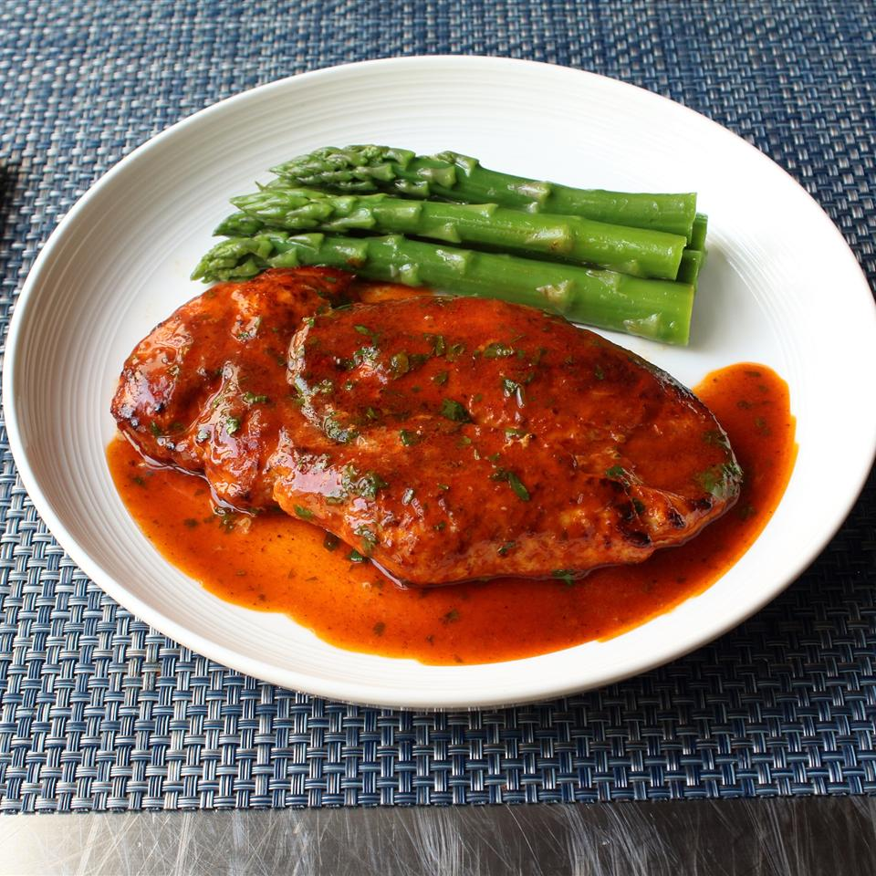 Berbere Spiced Chicken Breasts