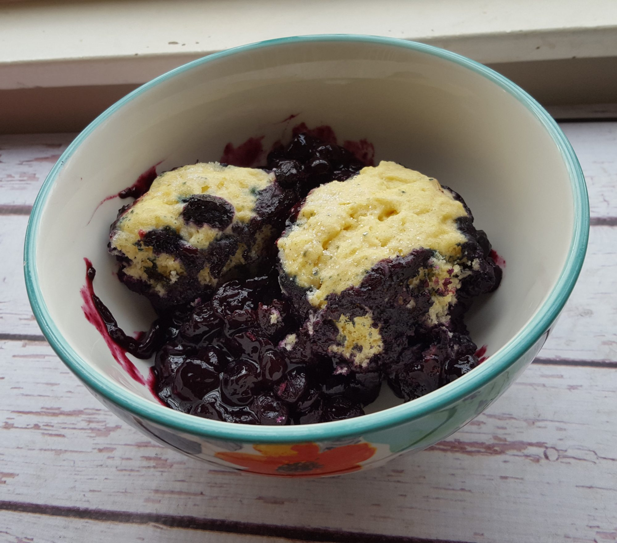 Stove Top Blueberry Grunt