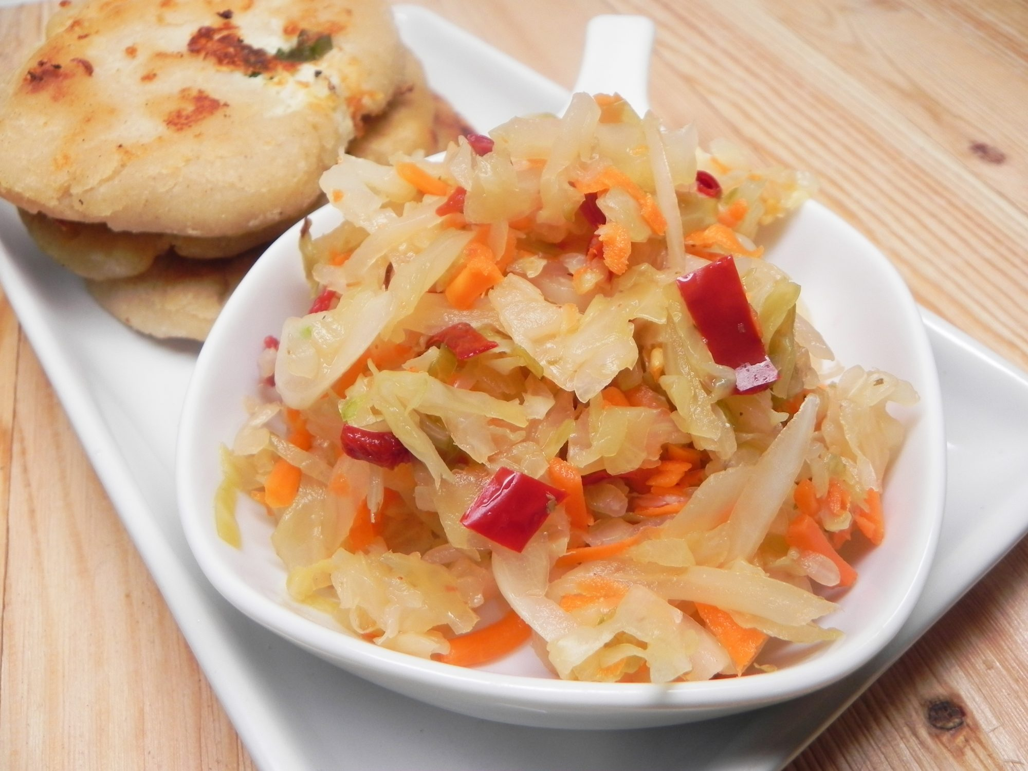 Curtido (Salvadoran Pickled Slaw)