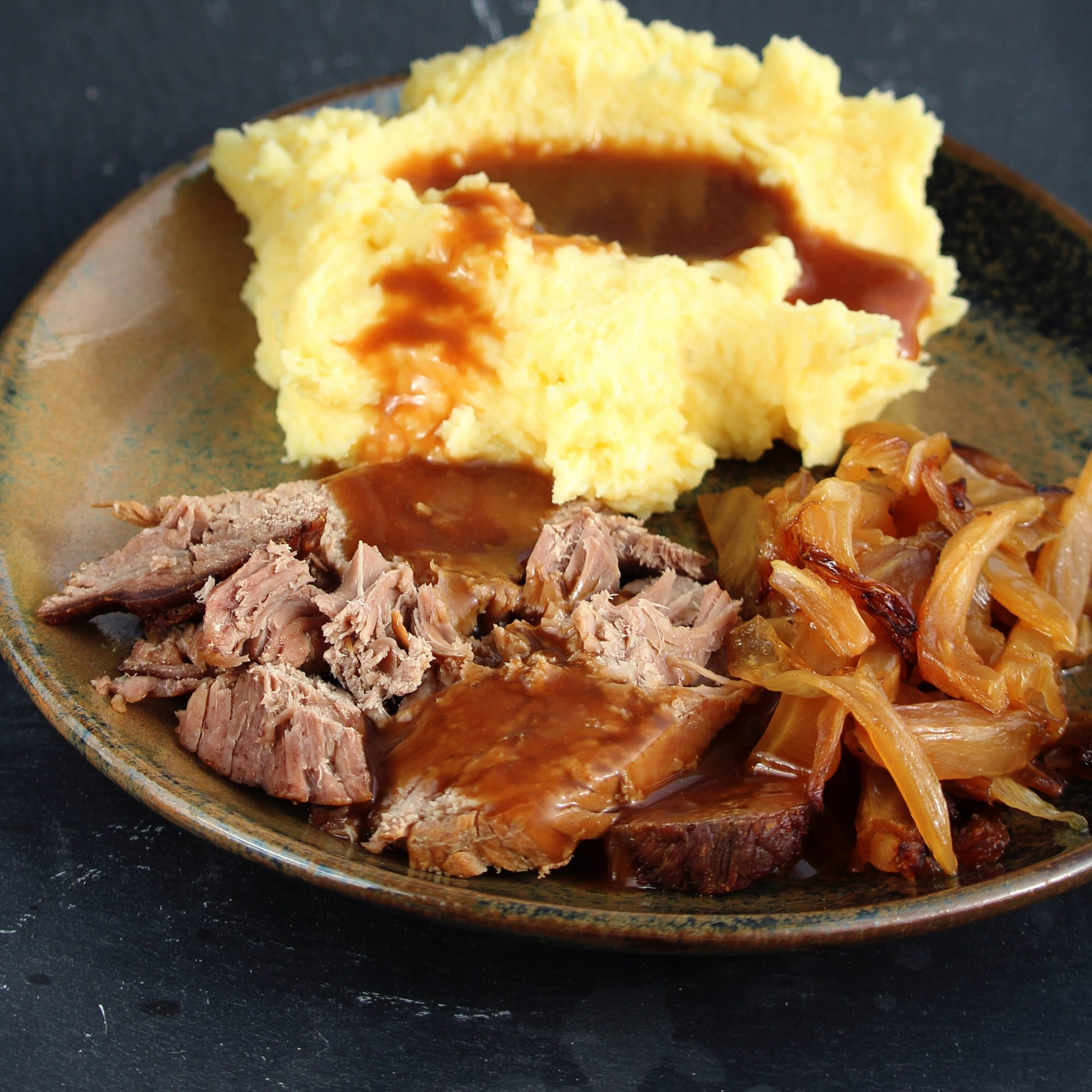 """First pot roast I've made that wasn't my Gram's! This was so tender that I didn't need a knife to cut it,"" Heather Holden says."